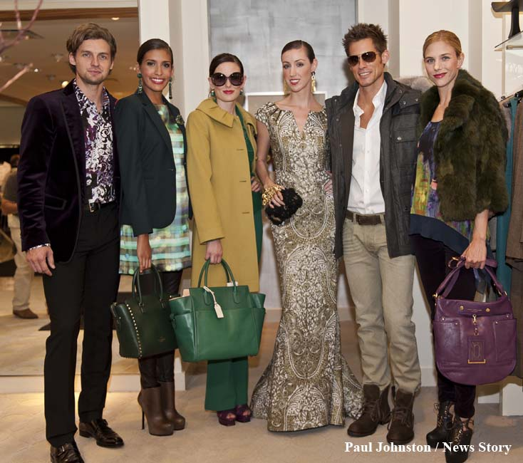 Models for Neiman Marcus 2012 Austin Fashion Week - Copyright - Paul Johnston - Austin News Story - austinnewsstory.com